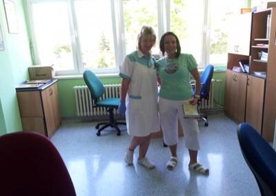 Kind, caring nursing staff
